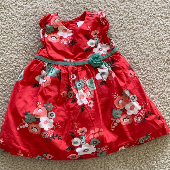 Floral dress from Gymboree.Size 12-18months